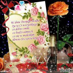 Birthday Wishes, Happy Birthday, Chicken Crafts, Birthdays, Table Decorations, Beret, Design, Bedroom, Kitchen