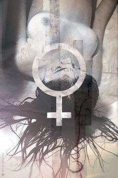 Anticristo de Lars Von Trier, póster alternativo