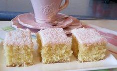 Coconut Slice Recipe Easy Delicious Old Fashioned Favorite Easy Slice, Coconut Slice, Coconut Cake Easy, Fig Cake, School Cake, Coconut Recipes, Coconut Desserts, Kiwi Recipes, Dessert Recipes
