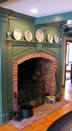 Big boy fireplace