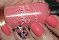 Sally Hansen Giant Peach Hard as Nails Xtreme Wear Polish -- one of 4 new colors i got for spring.... Really inexpensive!