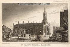 St Mary-the-less, Black Prince Road, Lambeth 1831