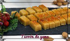 NAVIDAD-. Turrón de yema | Chef. Javier Romero Cap. 76 - Temporada 1- VIDEO. https://www.youtube.com/watch?v=uNcPIiaSSoQ