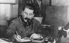 """In the 1930s, Stalin's regime instigated some of the most destructive policies any government has ever practised."" How did the October Revolution in Russia irrevocably alter the course of the 20th century? (Image: Bundesarchiv Bild 183-R80329, Josef Stalin. CC-BY-SA-3.0 via Wikimedia Commons.)"