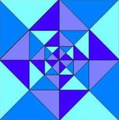 Graph Paper Art, Barn Quilt Patterns, Beautiful Rangoli Designs, Pattern Drawing, Science Art, Art Club, Color Theory, Op Art, Quilt Blocks