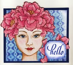#cre8time for Hello! #Dreamweaver and #Stampendous Collaboration