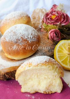 Donuts with lemon easy to vickyart recipe oven art in the kitchen