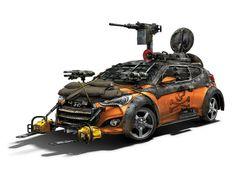 Hyundai Veloster Turbo Zombie Survival Machine - Drivespark
