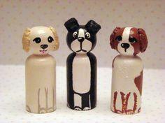 Pets peg dolls