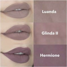 Batom Luanda - linha Bruna Tavares/ Glinda II - PPF/ Hermione - PPF.