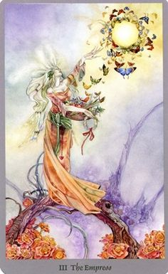 Empress card from the Shadowscapes Tarot