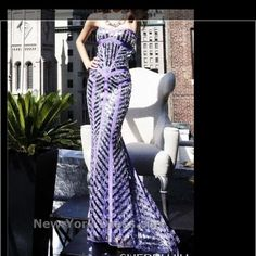 Stunning Lavender Gown