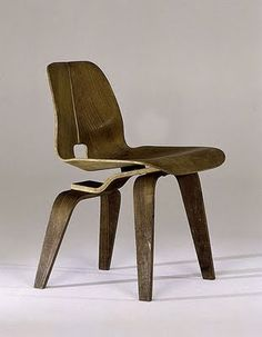 DCW (Dining Chair Wood), 1951 By Charles and Ray Eames