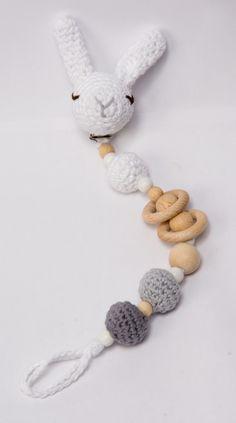 PORTA CHUPETES , Niños y bebé, Juguetes, Niños y bebé, Chupeteros, Crochet, Amigurumis