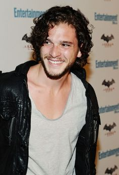 Kit Harrington. Oh you are lovely.