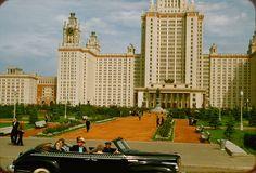 Moscou-Jardins des Monts Lénine - 1956 год - Союз жителей Гагаринского района