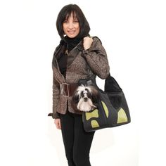 Pet Ego Boby Bag Forma Frame Pet Carrier in Black and Green, 16' L X 8' W X 10' H Small *** Check this awesome product by going to the link at the image. (This is an affiliate link and I receive a commission for the sales)