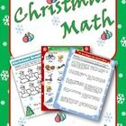 This is a resource packet full of fun, engaging math activities  for the students to work through during the Christmas season.  This packet is grea...