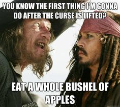 That is my braces feeling exactly. And I really ate a whole apple, because now it is legal. The curse is broken for me!!!