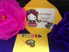 Nyah's Hello Kitty Mexican Fiesta!! I'm in love with her birthday invitations.