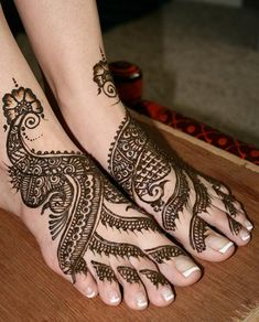 Henna shoes :)