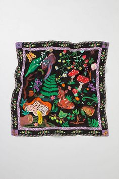 Forest Hatter Scarf, Woods - by Nathalie Lete