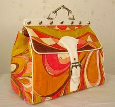 Vintage 60's Pucci Bag !!! I JUST PASSED OUT !!!