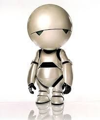 marvin the paranoid android - Google zoeken