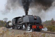 Steam loco Zimbabwe Choo Choo Train, Train Times, Rail Car, Old Trains, Victoria Falls, Steam Engine, Steam Locomotive, Travel Posters, Transportation