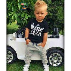 Ropa de los niños moda carta hijo varón caliente venta de mangas cortas pantalones de mezclilla del bebé de verano t shirt + jeans conjuntos en Conjuntos de Ropa de Bebés en AliExpress.com   Alibaba Group