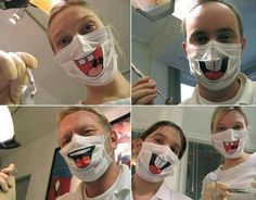 jajaja así si voy al dentista :p