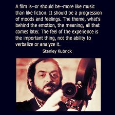 Film Director Quote - Stanley Kubrick  - Movie Director Quote    #stanleykubrick