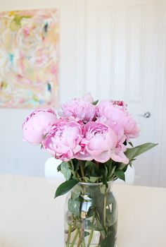 In the pink with peonies.