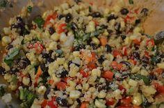 Quinoa~my new find.  It's delish!