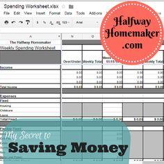 The Halfway Homemaker Home Business Organization, Budget Organization, Ways To Save Money, Money Saving Tips, Saving Coins, Save Save, Holiday Deals, Financial Success, Budgeting Money