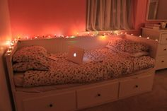 Only if my bedroom was like this... just be careful with the candles not to let them catch anything on fire.
