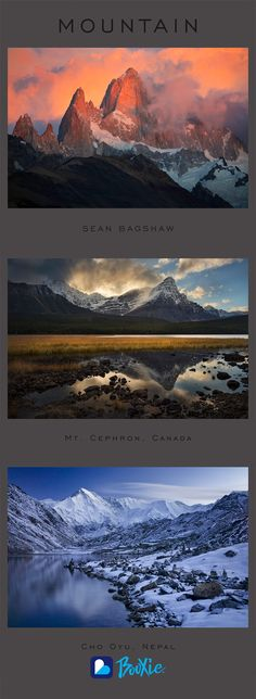 """Photographer Sean Bagshaw has just released """"Mountain,"""" a breathtaking Booxie showcasing a collection of stunning photos. Order yours today!"""