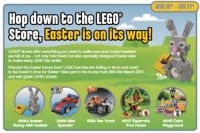 Lego Brand Store Calendar for March