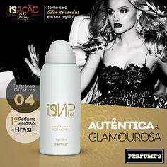 ✨✨ Quer um perfume que não deixa você passar desapercebida? O i9 Vip 04 é inspirado no 212 Vip de Carolina Herrera e faz sucesso entre as mulheres que querem ser o centro das atrações.  💻 Site: www.perfumesi9.com.br