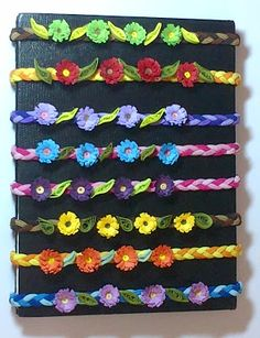 Colourful Quilling - Hair Bands for Girls