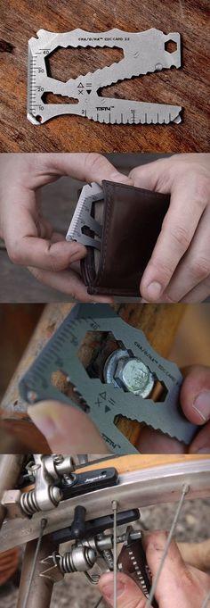 Cha-O-Ha Design EDC Everyday Carry Multi-Tool Card @thistookmymoney
