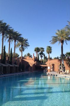 One of the pools with palms at the Westin Lake Las Vegas, Henderson, Nevada, USA   - Learn all about My First Hacked Travel Trip (to Las Vegas) and how I saved $1,023.88 http://travelnerdnici.com/first-hacked-travel-trip-las-vegas/ - Explore the World with Travel Nerd Nici, one Country at a Time. http://TravelNerdNici.com