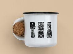 Tiki Mug Design Concept by Denis