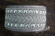 genuine Sami Lapland Swedish Bracelet  model ANNIKKA xtra