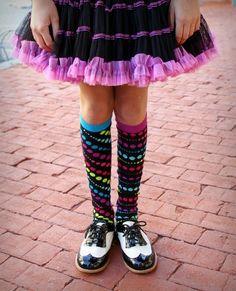 little miss matched- I love these socks. Hogan has good taste. Lol