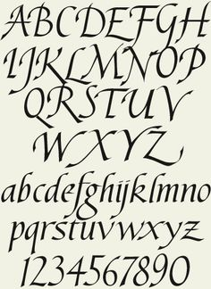 Original Calligraphy Fonts