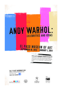 Andy Warhol Exhibition Poster 2014 Graphic Design 2 - Poster Project