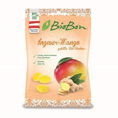 Gefüllte Bio-Bonbons: Ingwer-Mango Abbildung