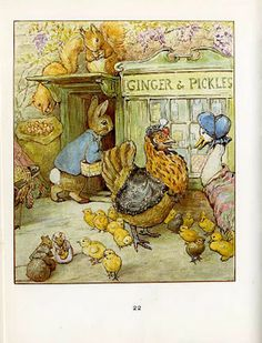 Tale of Ginger and Pickles Beatrix Potter
