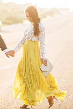 Yellow skirt giving positive vibes yellow skirt amelia full yellow maxi skirt SQUMRBH Yellow Maxi Skirts, Maxi Skirt Outfits, Tulle Skirts, Maxi Dresses, Bridesmaid Dresses, Flowy Skirt, Jean Skirt, Party Rock, Maxi Wrap Dress